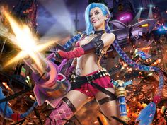 Jinx - JILL(JILL) Jinx Cosplay Photo - Cure WorldCosplay