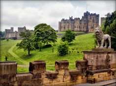 Alnwick Castle in Northumberland is the second largest inhabited castle in England (after Windsor Castle), and has been the home of the Percys since Alnwick Castle, Places To Travel, Places To See, Vacation Places, Places Around The World, Around The Worlds, Castles In England, England And Scotland, England Uk
