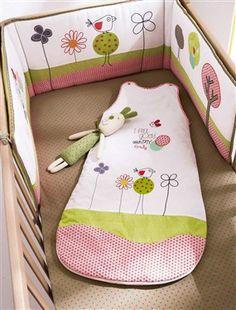 Tour de lit bébé Mini Garden*