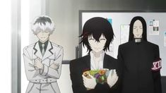 Juuzou and Haise - Tokyo Ghoul:re