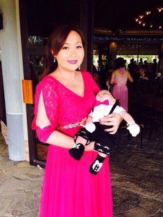 My Maid of Honor Dress, a Tammy Tan creation.
