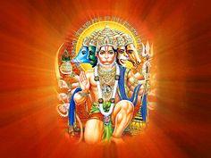 FREE Download Panchmukhi Hanuman Wallpapers