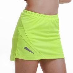 986194d065b5d Femmes de Professionnel Sport GYM Fitness Courir Yoga Jogging Shorts Femmes  De Tennis Shorts Jupe Anti