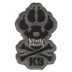 k9 patch . for dogs that mean business.