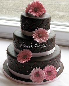 Gerbera Wedding cake | by FancyThatCake