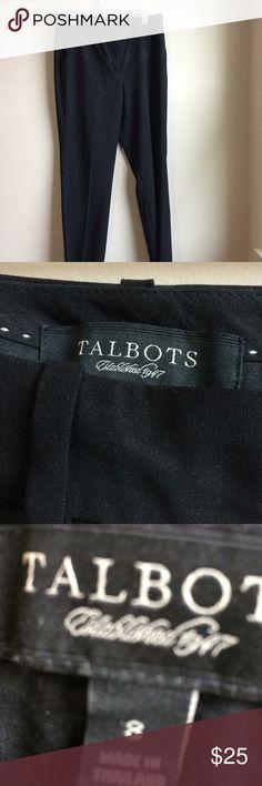 Dress pants Dress pants. Black silky. Talbots Pants Trousers