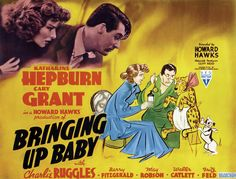 I find it passing strange that my mind alighted on this one as a starting point for this Board, but truth be told I really do adore this madcap comedy starring Kate Hepburn and Cary Grant.  Great performances, an engaging plot and machine gun paced script combine to make this movie magical.  They just dont make them like this one anymore.  Find it.  Watch it.  And then get authentically sentimental that Hollywood of old is long gone.