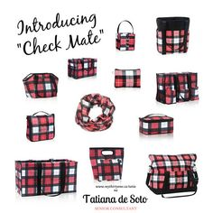 Absolutely love this pattern for Fall! Thirty-One Fall 2016 www.mythirtyone.ca/tatiana