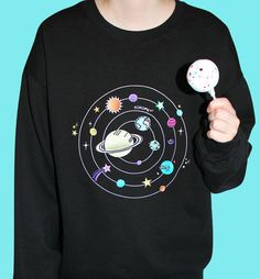 Solar System Embroidery jumper (LOW STOCK)