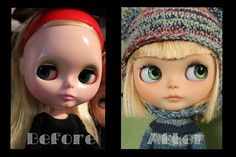 Ricky Before & After - Blythe Doll