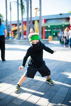 Black clothes. Green sweatband. BOOM. LEGO NINJAGO ninja status for #Halloween!