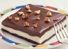 dondurulmuş çikolatalı tatlı