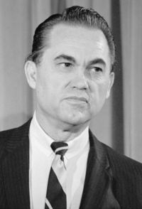 August 25, 1919: George C. Wallace is born in Clio. Four-time governor of Alabama, three-time candidate for U.S. president, George Wallace early in his career epitomized white resistance to Civil Rights demands in the 1960s. Almost killed by a would-be assassin in 1972, Wallace later recanted his segregationist views and was re-elected governor largely due to votes of African Americans.