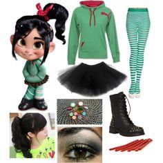 Wreck it Ralph - Disney Halloween Family Costumes Disney Costumes For Women, Disney Halloween Costumes, Costumes For Teens, Cute Costumes, Halloween Kostüm, Halloween Cosplay, Halloween Outfits, Costume Ideas, Vampire Costume Kids