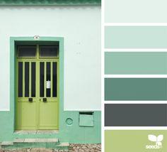 A Door Hues (design seeds) Colour Pallette, Colour Schemes, Color Patterns, Color Combinations, Paleta Pantone, Color Balance, Design Seeds, Coordinating Colors, Color Stories