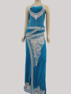 Blue jorget Saree.  #lka #saree #fashion #ladies #indianstyle