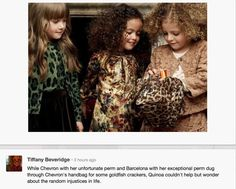 Loving the new Dolce & Gabbana kids collection Dolce & Gabbana, Dolce And Gabbana Kids, Kids Collection, Winter Collection, Little Fashionista, Permed Hairstyles, Stylish Kids, Fall Winter Outfits, Toddler Dress