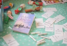 adverbs of advent with a link....what a great idea!