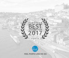 Porto European Best Destination 2017 #porto #oporto #feelporto #visitporto