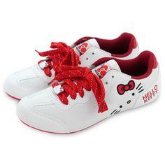 Hello Kitty Athletic Shoes: White W7 Code: K-CS910652W7  Price: $112.49