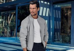 Can David Gandy make anything look bad? We think not, and the latest Marks & Spencer campaign is testament to the model's casual chic appeal. Gandy has