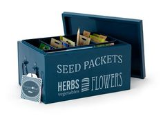 Seed Packets Organiser | Burgon & Ball