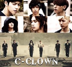 "After teasing us all last week, rising rookie idol group C-CLOWN has finally released the music video for ""SOLO"".Short for 'Crown C… Tvxq, Btob, Christian Yu, C Clown, Handsome Korean Actors, Kpop Profiles, Ailee, U Kiss, Korean Star"