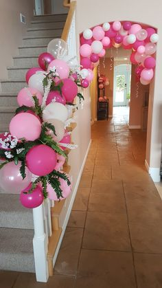 Best 12 Tinkerbell Balloon Centerpiece – Page 710724384924848869 – SkillOfKing.Com - New Deko Sites Pink Graduation Party, Graduation Decorations, Balloon Decorations, Birthday Party Decorations, Balloon Ideas, Breakfast Party Decorations, Balloon Flowers, Pink Balloons, Balloon Garland