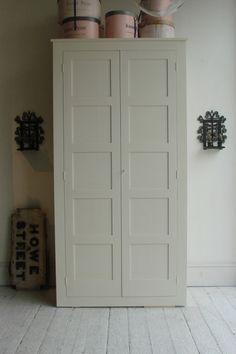 linen cupboard painted pine