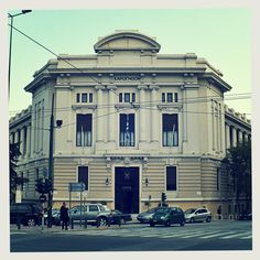 It's nearly impossible not to stare at the impressive Sarogleion building on Vasilissis Sophias Ave, home of the Armed Forces Officers' Club. (Walking Athens / Route 6, National Garden)