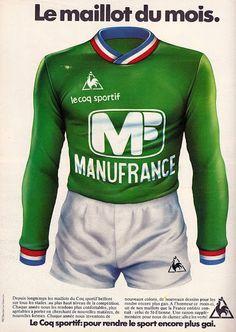 Le Coq Sportif Vintage. St-Etienne.