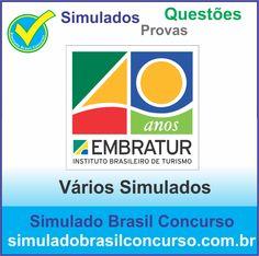 Concurso Embratur 2014.  Novos Simulados e Questões da Embratur 2014.  http://simuladobrasilconcurso.com.br/simulados/concursos/?filtro_concurso=1100  #SimuladoBrasilConcurso, #ProvaEmbratur