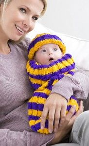 Free knitting pattern for Petite Pep Squad cocoon