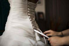 Robe de mariée cosmobella T36 38 d'occasion