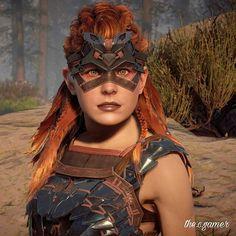 Horizon Zero Dawn Aloy, Viking Warrior, Warrior Princess, The Witcher, Amazing Art, Awesome, Ps4, Playstation, Gaming Center