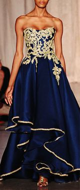 An Infinite List of Favorite Collections - Marchesa Spring 2013 RTW