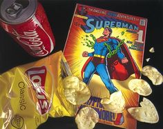 Capturing contemporary culture: Doug Bloodworth's 2013 work, Superchips.
