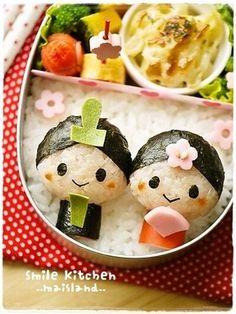 Japan's Himamatsuri Dolls Kyaraben Bento Lunch by Mai Mai