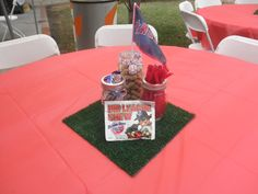 sports theme centerpiece ideas | Reasons to Plan a Baseball Themed Baby Shower | My Party Blog