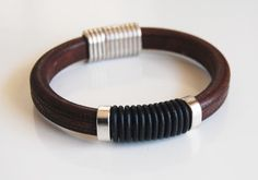 Bracelets For Ladies  :    Men's Dark  Brown Licorice Leather Bracelets – leather Bracelets- Mens jewelry- Mens Bracelets-Dark  Brown Bracelets- Unisex Bracelets  - #Bracelets https://talkfashion.net/acceseroris/bracelets/bracelets-for-ladies-men39s-dark-brown-licorice-leather-bracelets-leather-bracelets-mens-j/