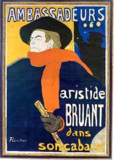 """""""Ambassadeurs Cabaret"""", Henri de Toulouse-Lautrec, 1892."""