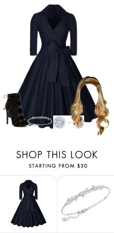 """Untitled #1008"" by dancer-sos on Polyvore featuring Swarovski"