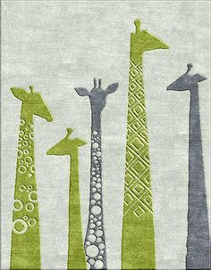 The Giraffe Rug 10 x 8 feet * Custom Sizes Available * Handmade To Order Nepal Tibet This is an amazing hand made rug. It would grow along with the child. Sure to become a favorite. Carpet Flooring, Rugs On Carpet, Room Ideias, Chandeliers, Childrens Rugs, Interior Rugs, Magic Carpet, 3d Max, Carpet Design