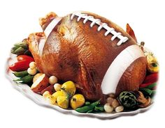 The cartoon below suggests that the Thanksgiving-football connection is even older, however. Description from faithandamericanhistory.wordpress.com. I searched for this on bing.com/images