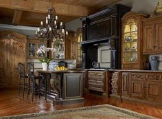 Beautiful and elegant Tuscan Kitchen Design:
