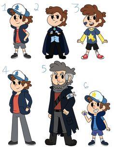 Dipper AU Designs by MiniJen on DeviantArt Gravity Falls Au, Dipper, Fallout Vault, Boys, Deviantart, Fictional Characters, Google Search, Design, Baby Boys