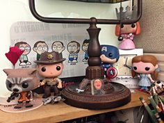 2014 YIP - Day 231: The gang at my desk