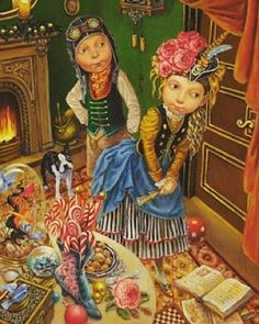 We now have a delightful range of cards by Melbourne artist Ritva Voutila. This image is from 'The Nutcracker' retold by Margrete Lamond. I think you'll agree that they're stunning in their detail!  #art #cards #giftcards #artist #RitvaVoutila #nutcracker #christmasiscoming #blarneybooksandart #portfairy by blarneybooks