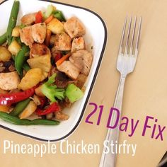{21 Day Fix Challenge} 2 Recipes + Thoughts as of Day 5