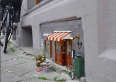 Tiny mouse cafes magically appear in Sweden